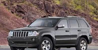 Manual Jeep Grand Cherokee 2008 de Propietario