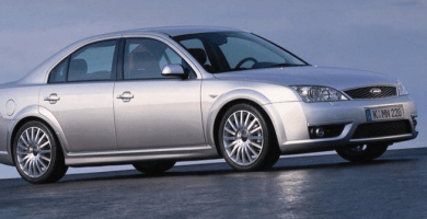 Manual Ford Mondeo 2001