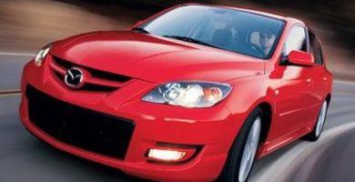 Mazda SPEED 3 2007 Manual de Reparación