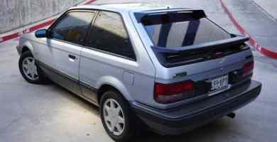 Manual Mazda 323 1988