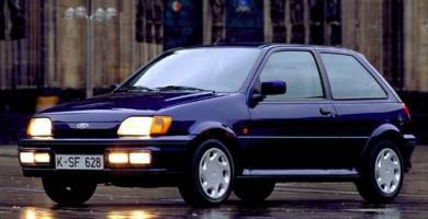 Manual Ford Fiesta 1989