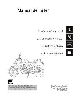 Manual Moto Kawasaki ZZR 1100 Reparación en PDF