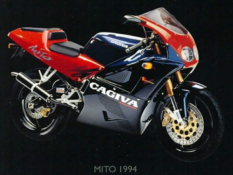 Manual Moto Cagiva Mito 1994 Reparacion y Servicio