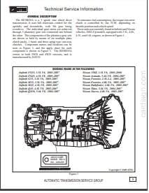 Reparar Tansmision Automatica Nissan Infiniti modelo RE5R05A