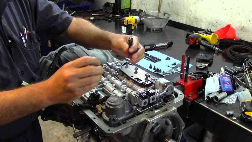 Reparación Transmision Tahoe 2003