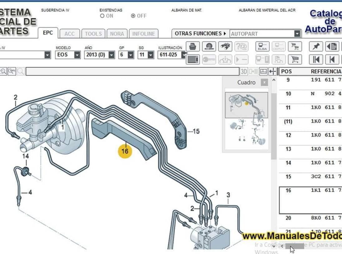 Partes del motor para Volkswagen LT 2006