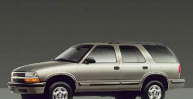 Manual de Usuario CHEVROLET Blazer 1998 en PDF Gratis