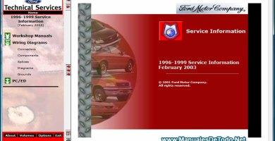 Ford TIS 1996-1999 Sistema de Información Técnica Manuales