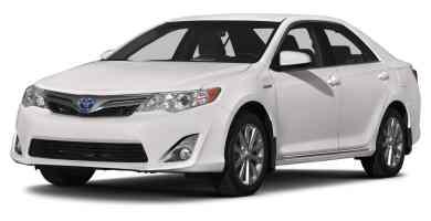 Manual Toyota Camry 2014 de Usuario