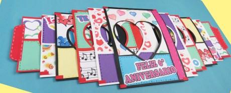 Tarjeta para aniversario