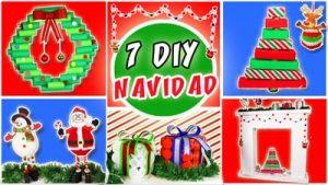 Ideas de Navidad con rollos de papel higienico