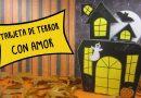 TARJETA AMOR DE TERROR
