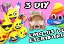 3 DIY EMOJIS DE ESCRITORIO