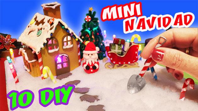 DIY de Navidad en Miniatura