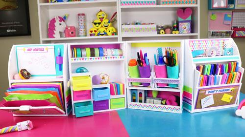 Organizador de escritorio plegable