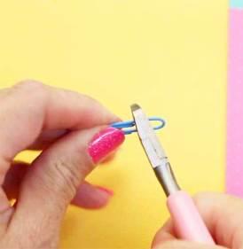 como hacer ganchos con clips