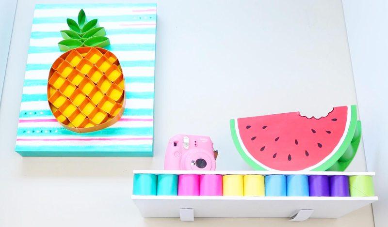 ideas de reciclaje decoración