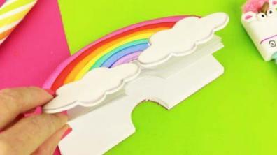 libretas de unicornio en foami
