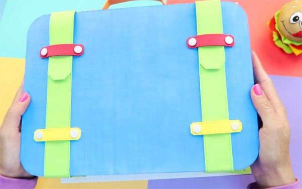 maleta en Goma Eva con codigo secreto
