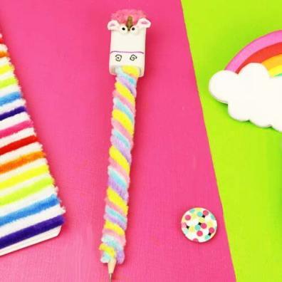 utiles de unicornio