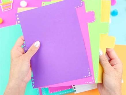 como hacer tu propio cuaderno