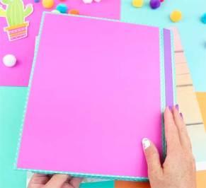 como hacer un cuaderno facil y rapido