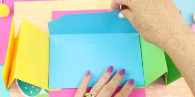 como hacer un folder de fomi para niño