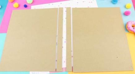 piezas carpeta de carton