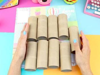 videos de rollos de papel