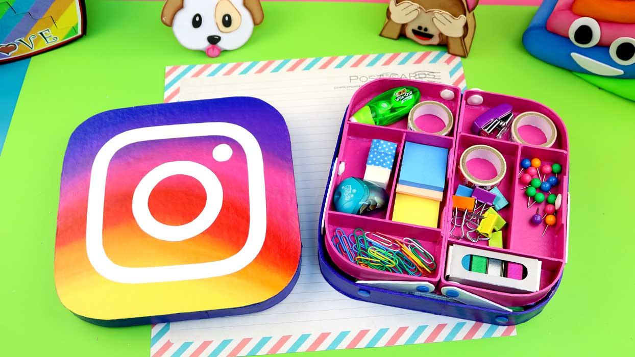 estuche instagram