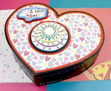 Corazon sorpresa para el dia de los enamorados