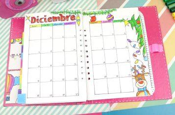 bullet journal diciembre
