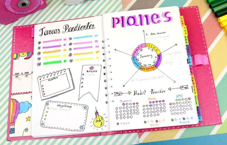 bullet journal plantillas