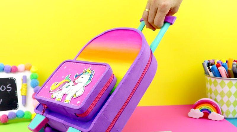 maleta de unicornio