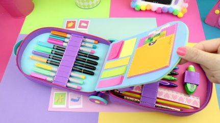 utiles escolares de unicornio