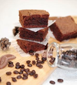 receta de brownie con chocolate