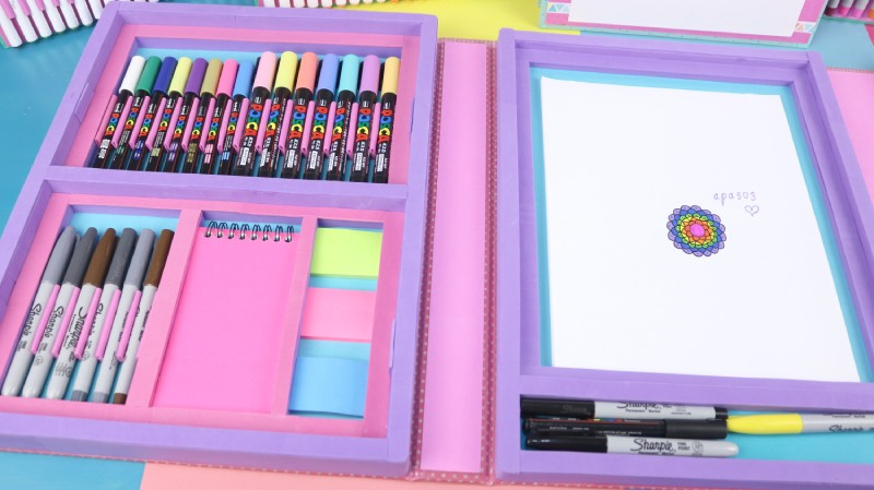 como hacer organizador de escritorio