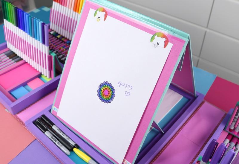 maleta organizador utiles escolares