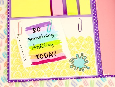 notas para decorar carpeta escolar