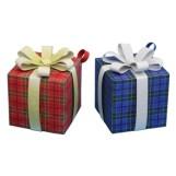 Papercraft imprimible y armable de adornos de cajas para regalos. Manualidades a Raudales.