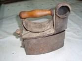 Restauración plancha antigua - Manualidades a Raudales.