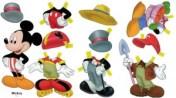 Recortable de Mickey de Disney. Manualidades a Raudales.