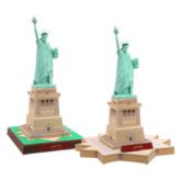 Papercraft building de la Estatua de la Libertad. Manualidades a Raudales.