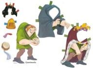 Recortable de Quasimodo de Disney. Manualidades a Raudales.