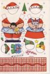 Recortables de Santa Claus. Manualidades a Raudales.