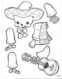 Marioneta de un esqueleto mejicano. Manualidades a Raudales.