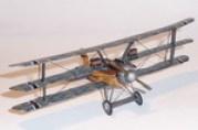 Papercraft imprimible y armable del avión Albatros Dr II. Manualidades a Raudales.