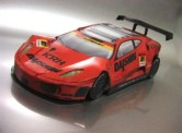 Papercraft imprimible y armable del Ferrari F430 2009. Manualidades a Raudales.