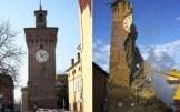 Papercraft building recortable y armable de la Torre Dell´Orologio en Italia. Manualidades a Raudales.
