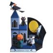Papercraft del Diorama de la noche de Halloween. Manualidades a Raudales.,